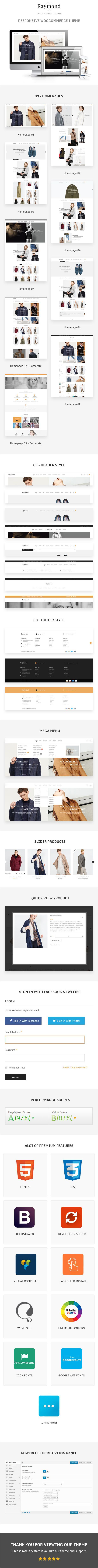Raymond WordPress Theme