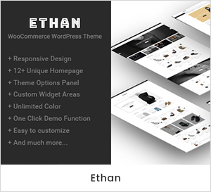 Ethan - Tema do WordPress e responsivo