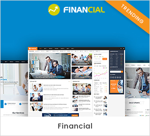Financial - Fitness - Gym & Yoga WordPress Theme