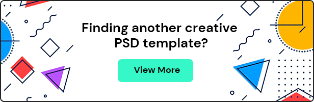 Atisa - Interactive Portfolio Showcase PSD Template - 1