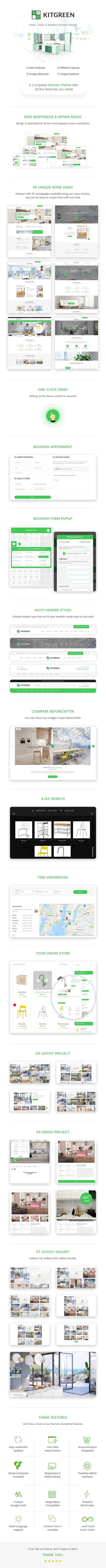 KitGreen - Modern Kitchen WordPress Theme