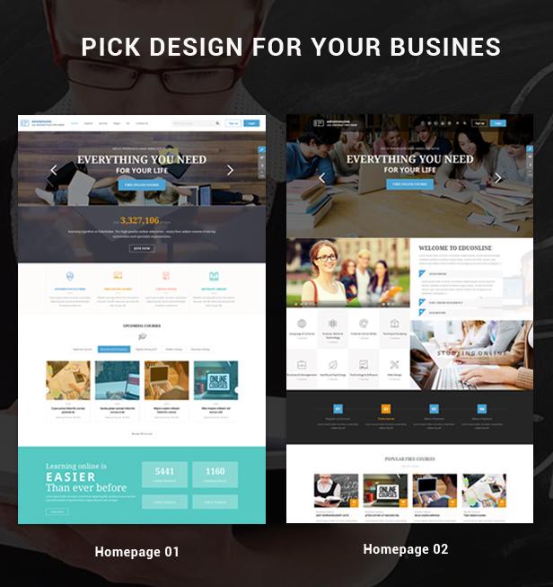 02 Homepage Eduonline