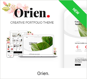 Orien - Creative Portfolio WordPress Theme