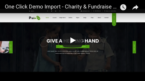 Charity & Fundraise Non-profit WordPress Theme  Download Pain – Charity & Fundraise Non-profit WordPress Theme nulled pain oneclick