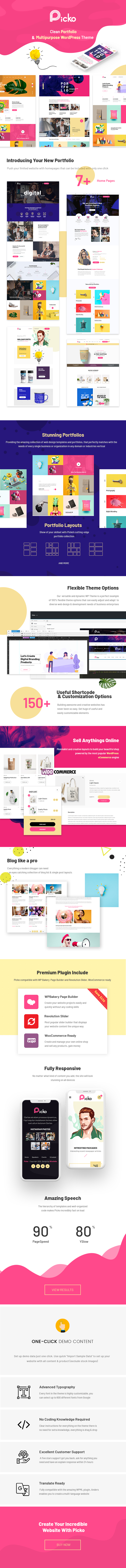 Clean Portfolio & Multipurpose WordPress Theme