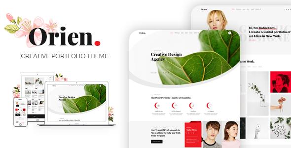 Orien - Creative Portfolio WordPress Theme