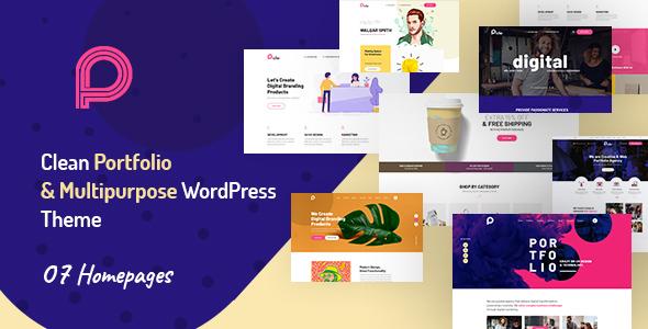 Picko - Clean Portfolio & Multipurpose WordPress Theme