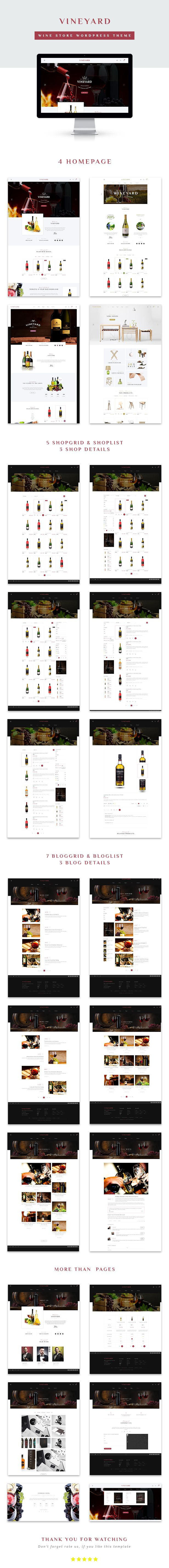 Wine Store WooCommerce WordPress Theme