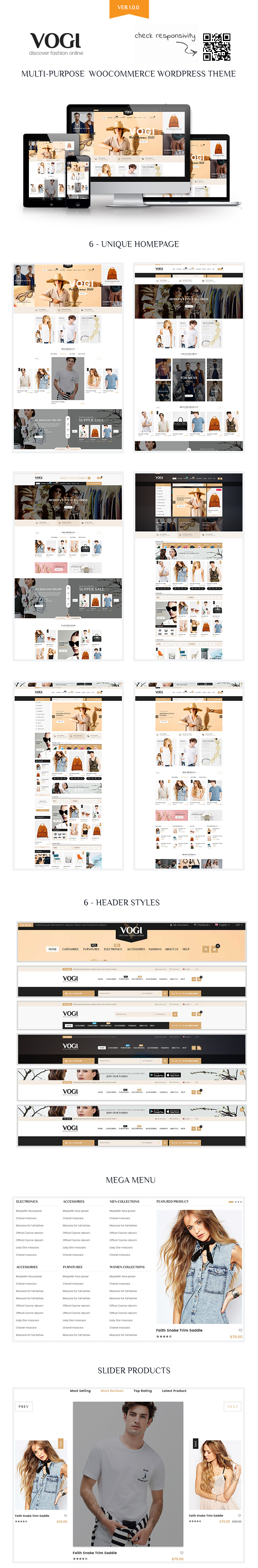 Vogi | Multi-Purpose WooCommerce WordPress Theme (WooCommerce) | Ace Template