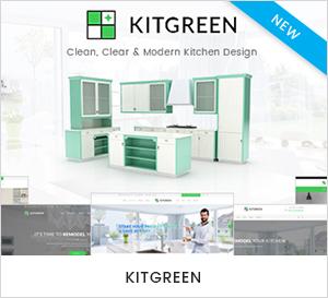 Modern Kitchen & Interior Design WordPress Theme