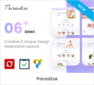 Paradise Medicare - Medical & Health WordPress Theme theme WordPress