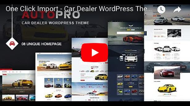 AutoPro - Car Dealer WordPress Theme - 3